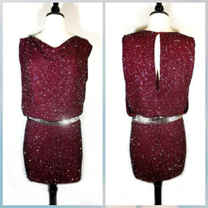 Haute Hippie Embellished Dress